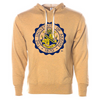 The University of Akron Seal Unisex French Terry Hooded Pullover
