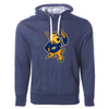 The University of Akron Zippy Unisex French Terry Hooded Pullover