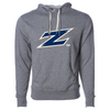 "The University of Akron ""Z"" Unisex French Terry Hooded Pullover"