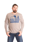 UNIVERSITY OF TOLEDO Rockets Men's Long Sleeve Tee