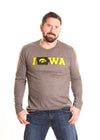 UNIVERSITY OF IOWA  Hawkeyes Men's Long Sleeve Tee
