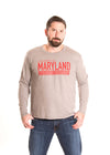 Maryland Terrapins Men's Long Sleeve Tee