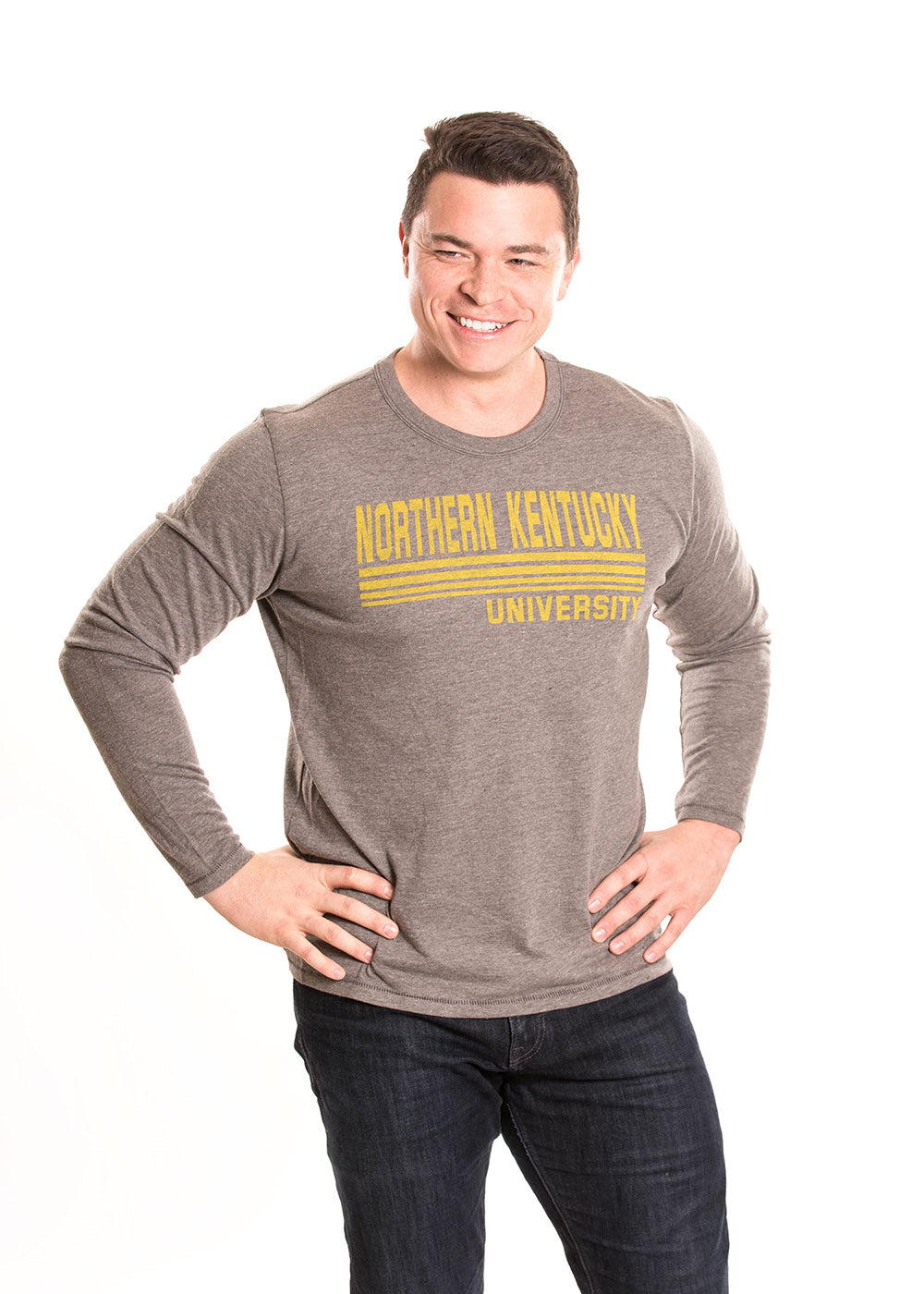 NORTHERN KENTUCKY UNIVERSITY Norse Men's Long Sleeve Tee