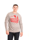 Boston University Terriers Men's Long Sleeve Tee