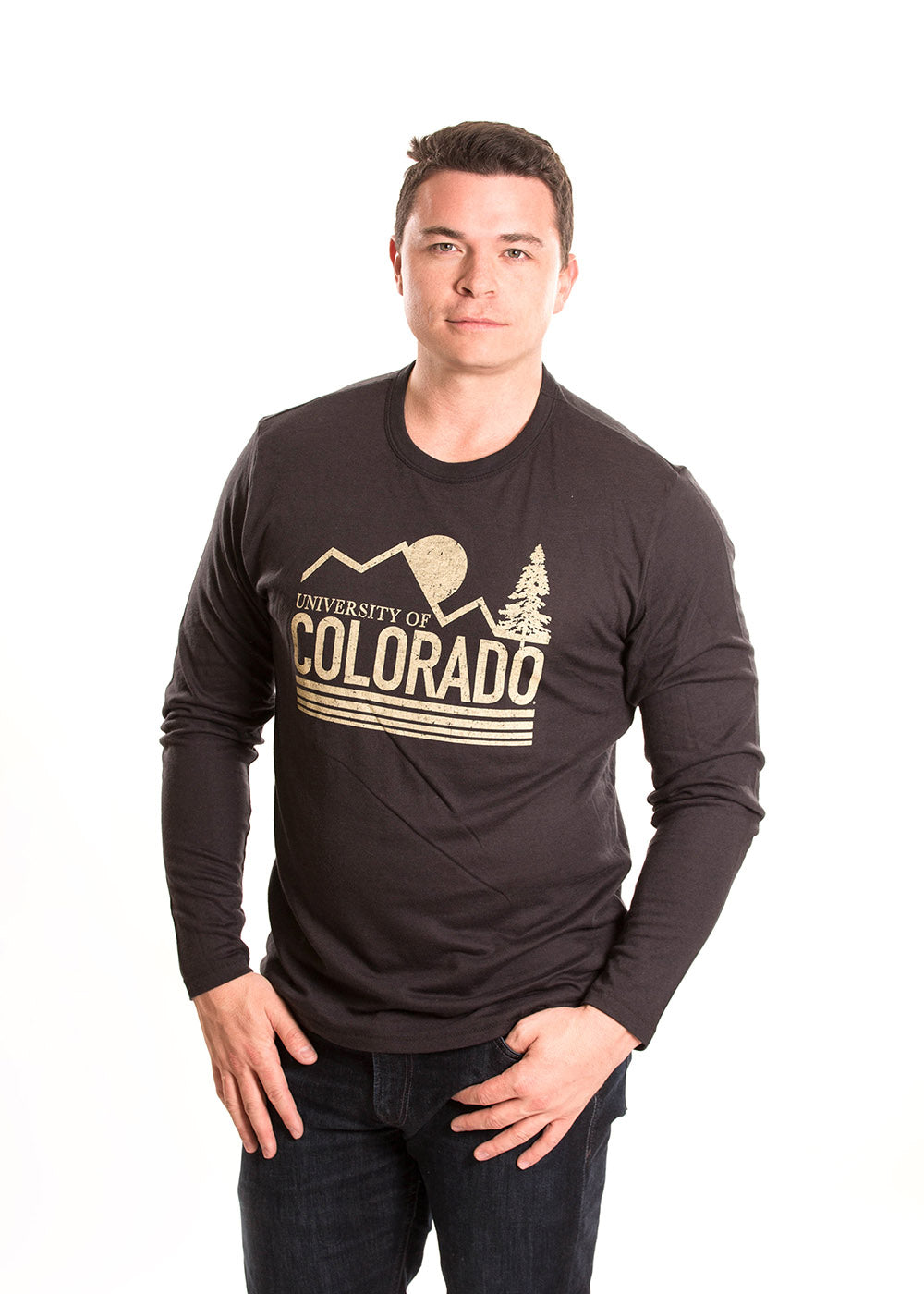 UNIVERSITY OF COLORADO Buffaloes Men's Long Sleeve Tee