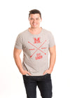 MIAMI UNIVERSITY Redhawks Men's Recycled Tee