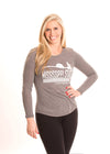 MISSISSIPPI STATE UNIVERSITY Bulldogs Women's Long Sleeve Tee