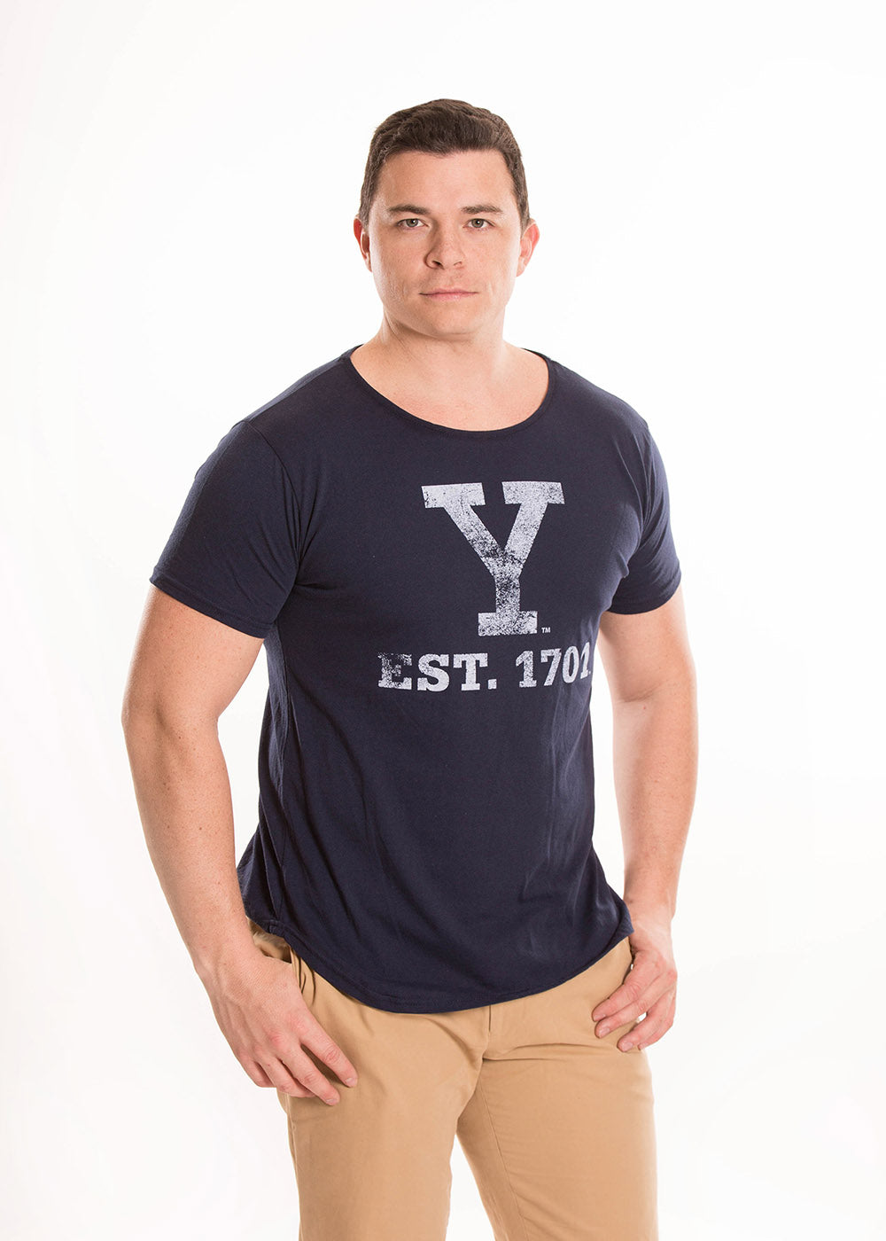 YALE UNIVERSITY Bulldogs Men's Recycled Tee