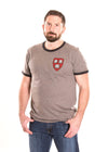 Harvard Crimson Men's Ringer Tee