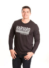 HARVARD UNIVERSITY Crimson Men's Long Sleeve Tee