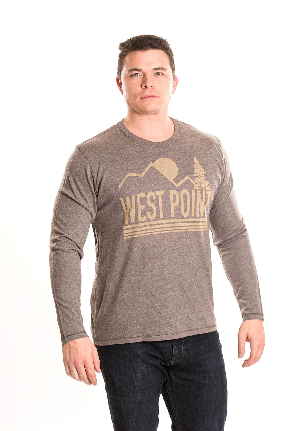 ARMY - WEST POINT Black Knights Men's Long Sleeve Tee