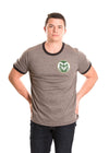 Colorado State Rams Men's Ringer Tee