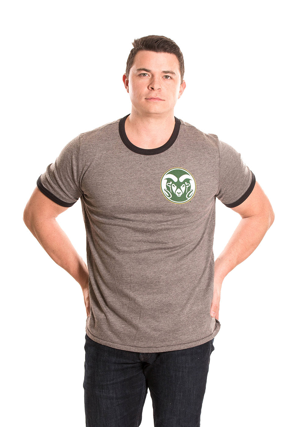 COLORADO STATE UNIVERSITY Rams Men's Ringer Tee