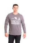 GONZAGA UNIVERSITY Bulldogs Men's Long Sleeve Tee