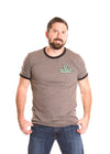 DARTMOUTH COLLEGE Big Green Men's Ringer Tee