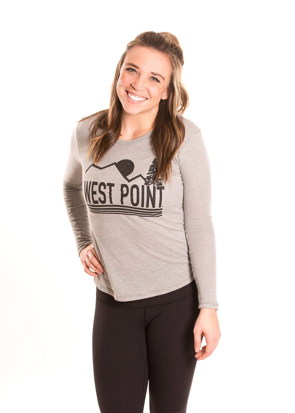 ARMY - WEST POINT Black Knights Women's Long Sleeve Tee