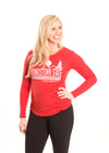 YOUNGSTOWN STATE UNIVERSITY Penguins Women's Long Sleeve Tee