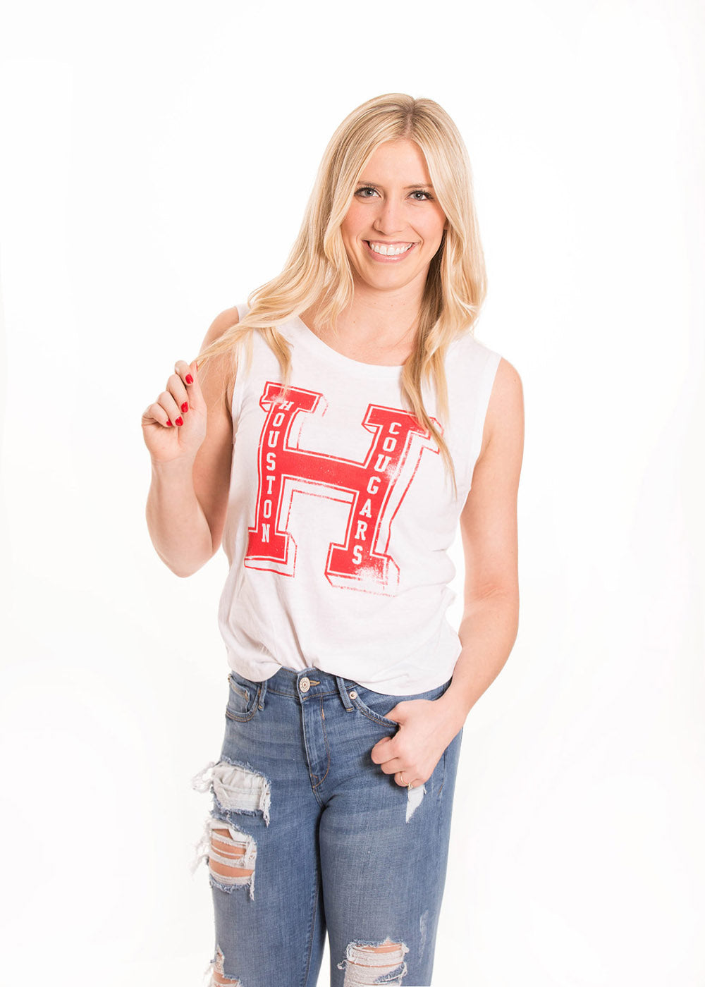 UNIVERSITY OF HOUSTON Cougars Women's Muscle Tank