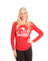 NC STATE UNIVERSITY Women's Long Sleeve Tee