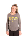 CALIFORNIA STATE UNIVERSITY, LONG BEACH 49ers Women's Long Sleeve Tee