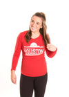 UNIVERSITY OF HOUSTON Cougars Women's Long Sleeve Tee