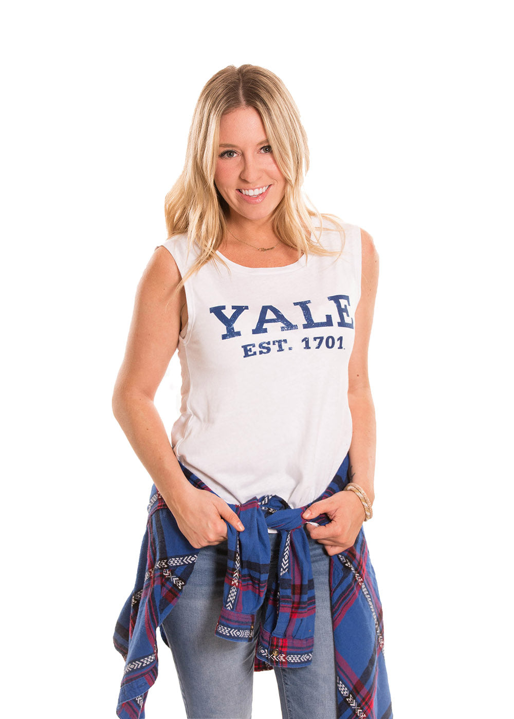 YALE UNIVERSITY Bulldogs Women's Muscle Tank