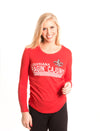 UNIVERSITY OF LOUISIANA AT LAFAYETTE Lafayette Ragin' Cajuns Women's Long Sleeve Tee