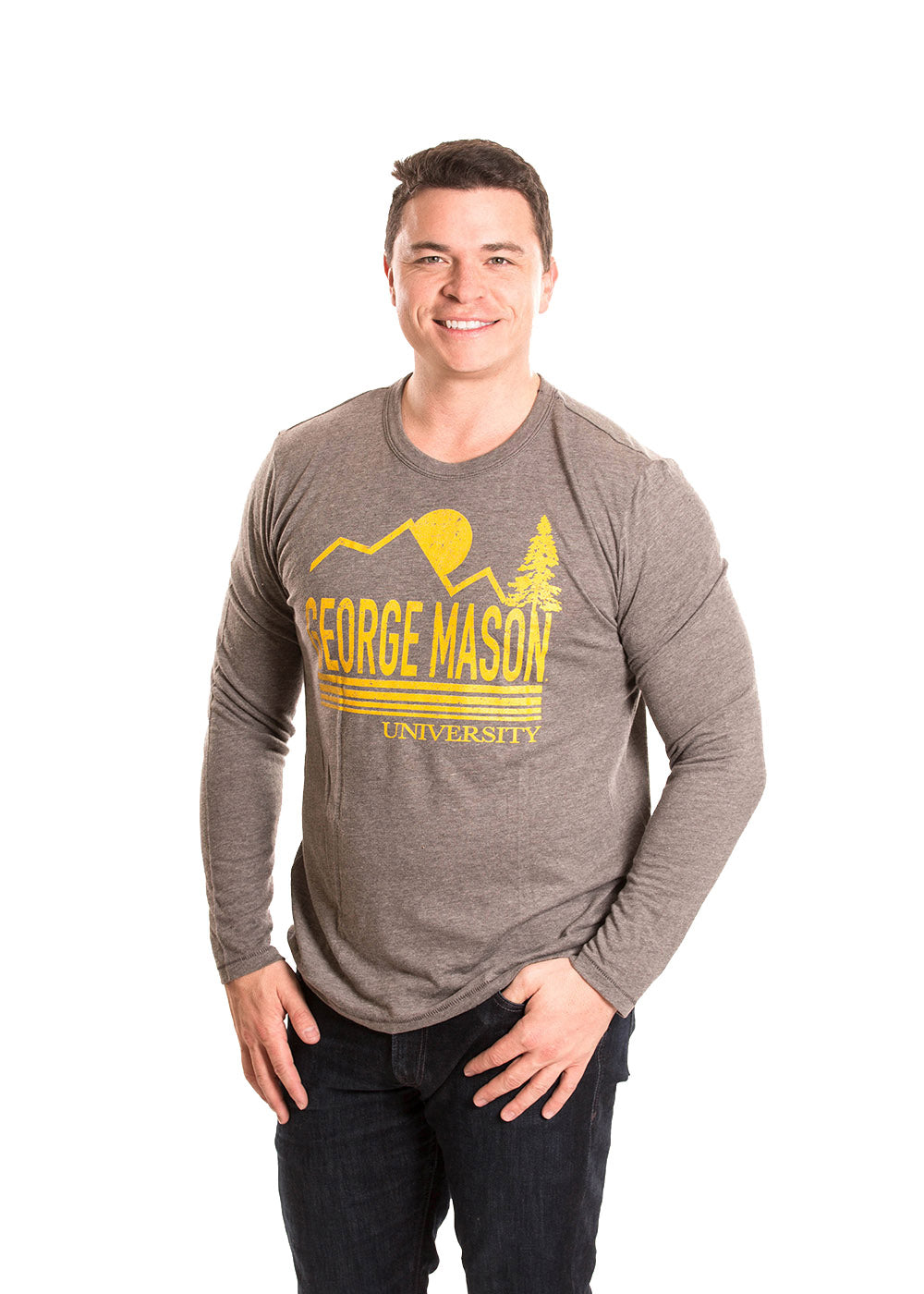 GEORGE MASON UNIVERSITY Patriots Men's Long Sleeve Tee