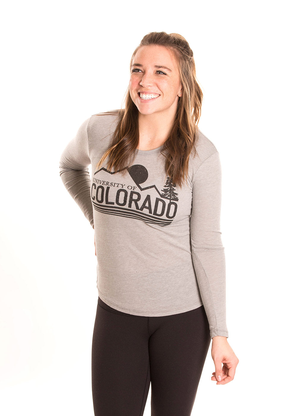 UNIVERSITY OF COLORADO Buffaloes Women's Long Sleeve Tee