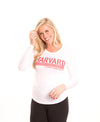 Harvard Crimson Women's Long Sleeve Tee