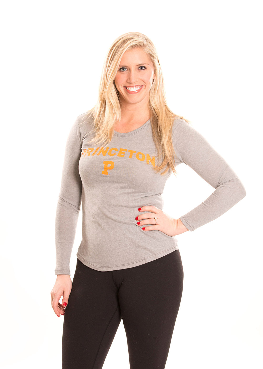PRINCETON UNIVERSITY Tigers Women's Long Sleeve Tee