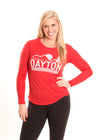 Dayton Flyers Women's Long Sleeve Tee