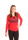 GONZAGA UNIVERSITY Bulldogs Women's Long Sleeve Tee