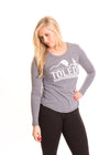 UNIVERSITY OF TOLEDO Rockets Women's Long Sleeve Tee