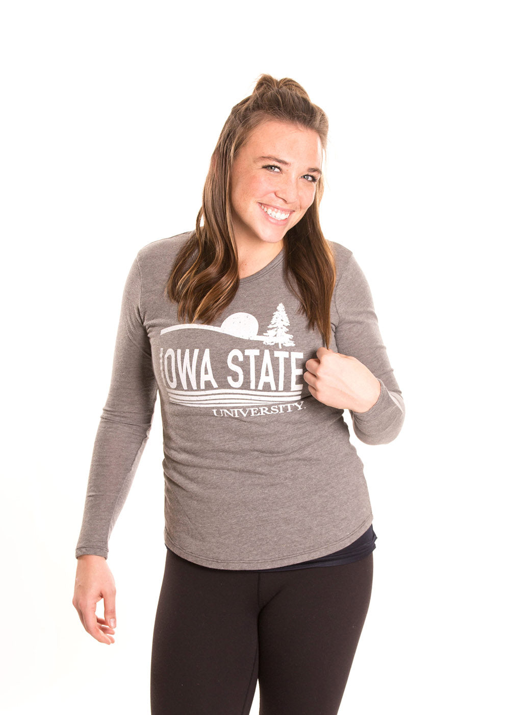 IOWA STATE UNIVERSITY Cyclones Women's Long Sleeve Tee