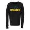ST. MARY SCHOOL YOUTH JERSEY LONG SLEEVE TEE COUGARS EYES