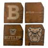 BUTLER UNIVERSITY Reclaimed Barn Beam Coaster Set