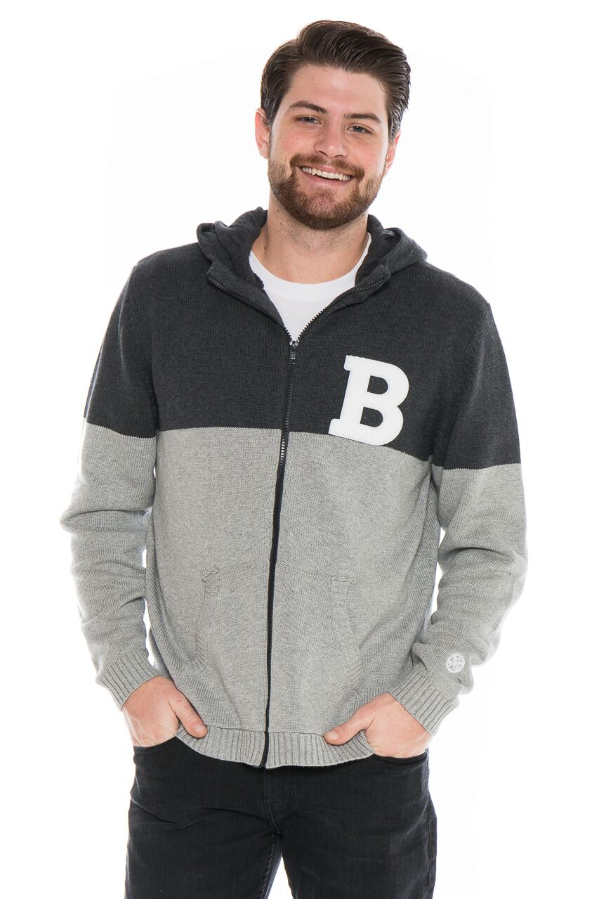 BUTLER UNIVERSITY Bulldogs  Men's Color Block Zip