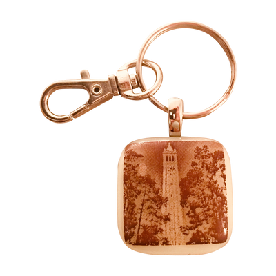 CAL Glass Key Chain