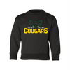 ST. MARY SCHOOL YOUTH CREWNECK SWEATSHIRT COUGARS EYES