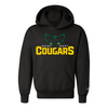 ST. MARY SCHOOL YOUTH 9 OZ. DOUBLE DRY ECO PULLOVER HOODIE COUGARS EYES