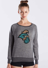 COASTAL CAROLINA UNIVERSITY Chanticleers Women's French Terry Raglan Pullover