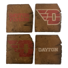 UNIVERSITY OF DAYTON Reclaimed Barn Beam Coaster Set