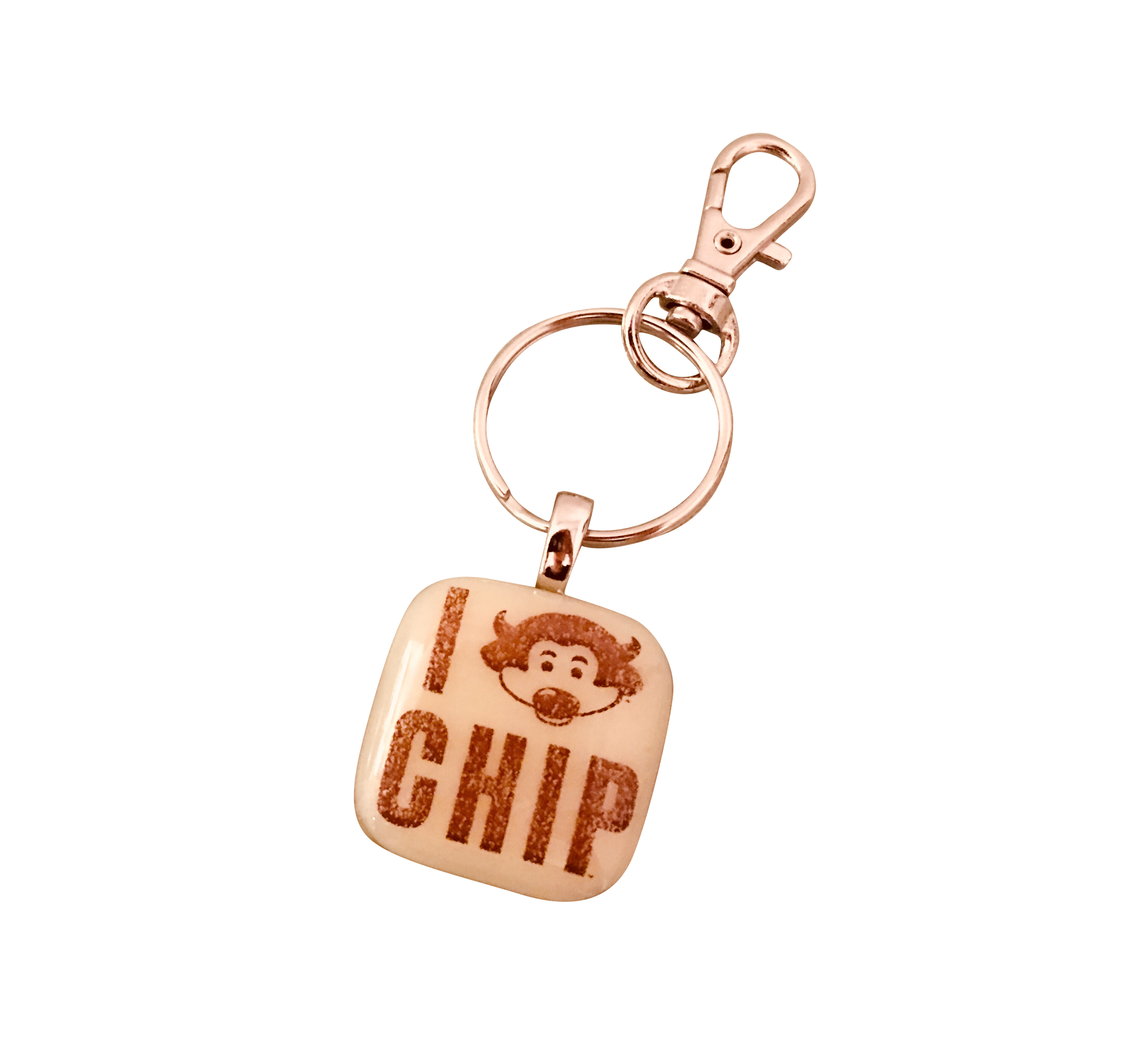 UNIVERSITY OF COLORADO Chip Glass Key Chain