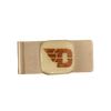 UNIVERSITY OF DAYTON Glass Emblem Money Clip