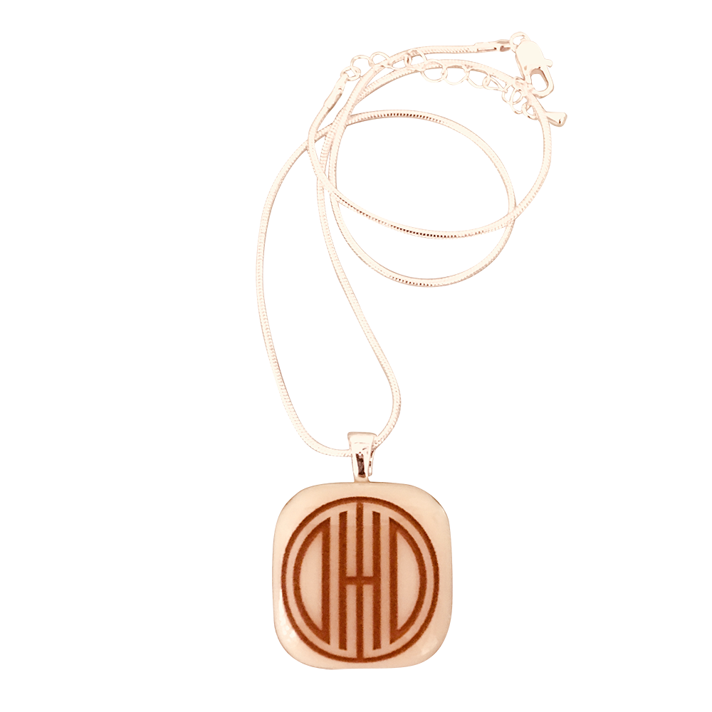 OHIO UNIVERSITY Heritage Ohio Glass Necklace