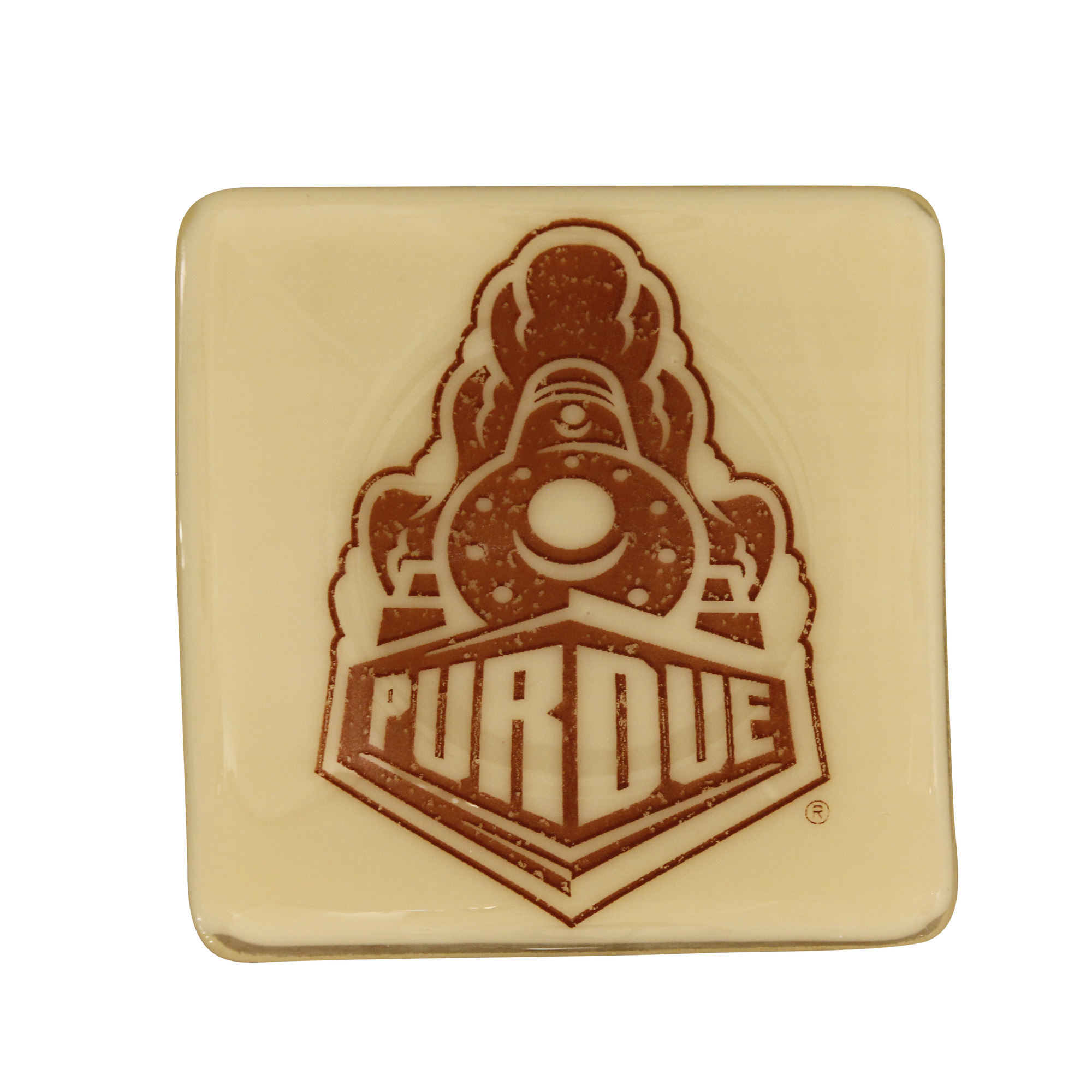 PURDUE UNIVERSITY Glass Dish