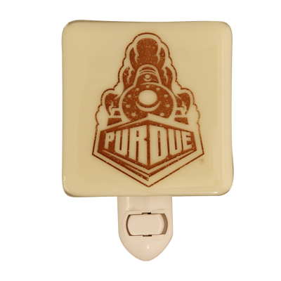 PURDUE UNIVERSITY Glass Night Light