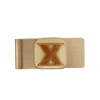 XAVIER UNIVERSITY Glass Emblem Money Clip