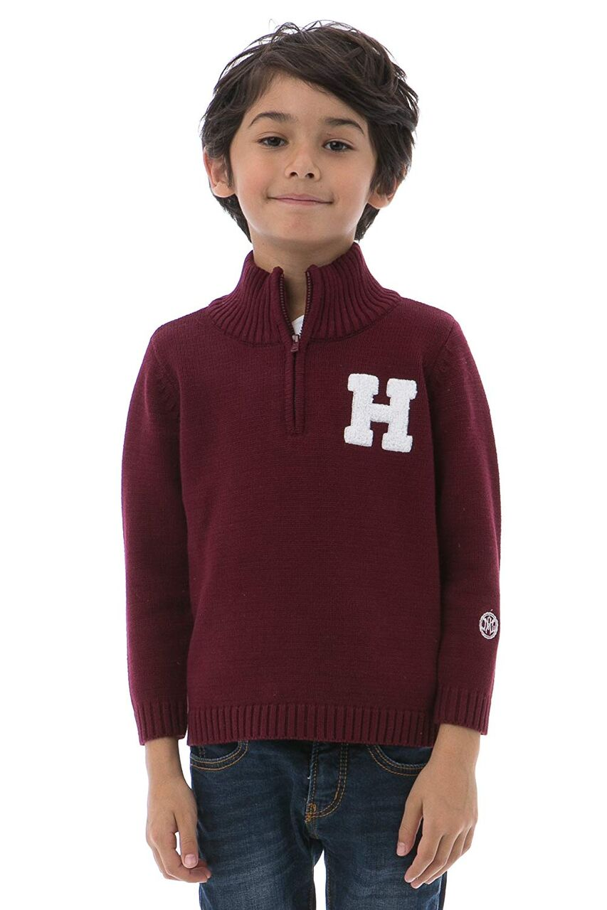 HARVARD UNIVERSITY Boy's Quarter Zip